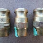 "1"" Brass Camlock Adapter Type F"