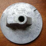Mercury/Mercruiser Flat Trim Tab Aluminium Anode