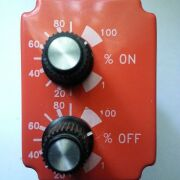 Solid State Timer Relay, 120VAC coil, 10A 120/240VAC, 8 pin plug