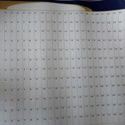One year Dry-erase planner