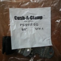 """5/8"""" Cush-A-Clamp Assembly Pipe/Tube Clamp"""