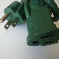 6ft Outdoor extension cord