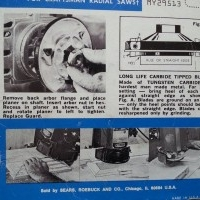Rotary Planer for Radial Arm Saw