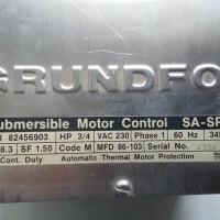 3/4 HP Submersible Motor Control